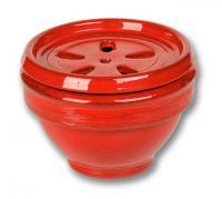 image de l'absorbeur d'humidité décoratif en terre de couleur rouge